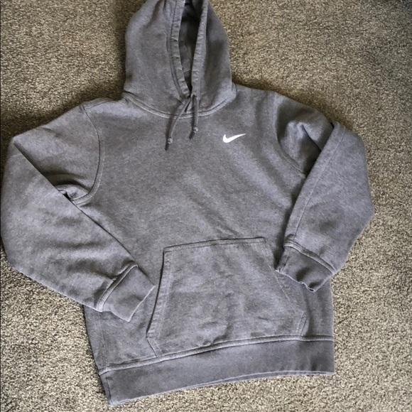 Nike Charcoal Gray Hoodie Men's Small